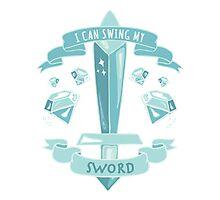 Diamond Sword - Tshirt Photographic Print