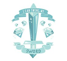 Diamond Sword - Tshirt Photographic Print