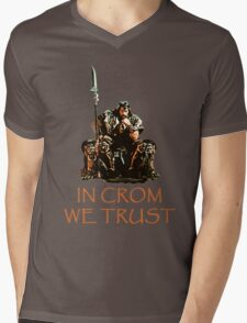 In Crom We Trust Mens V-Neck T-Shirt