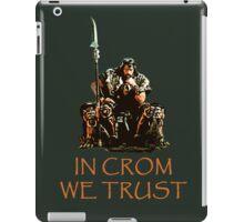 In Crom We Trust iPad Case/Skin