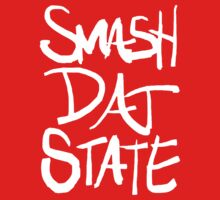 SMASH DAT STATE (All White) by swaghagswag