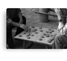 Chinese Chess Canvas Print