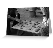 Chinese Chess Greeting Card