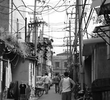 A Glimpse of Hutong Life by GWillikers