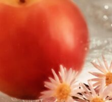 Apple and Daisies... Sticker