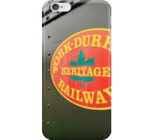Canadian Heritage Train iPhone Case/Skin