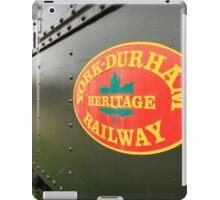Canadian Heritage Train iPad Case/Skin
