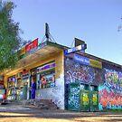 Corner Shop by Robert  Welsh