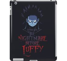 Nightmare Before Luffy iPad Case/Skin