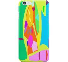 Work Painting Creation Lake Camping Fish iPhone Case/Skin
