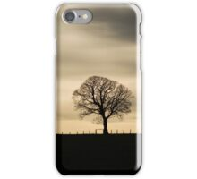 Allander winter tree iPhone Case/Skin