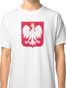 Coat of Arms of Poland Classic T-Shirt