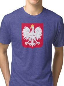 Coat of Arms of Poland Tri-blend T-Shirt