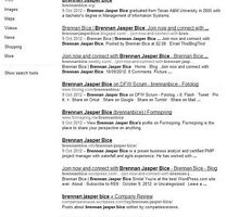 Some More Search Text Result Brennan Jasper Bice in Google by brennanbice