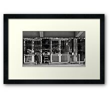 Art Center BLING! Framed Print