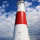 The Lighthouse at Portland Bill by Mark Hughes