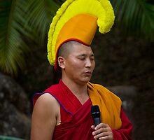 Tibetan Monk by Steve Bass