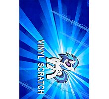 Vinyl Scratch Poster and Shirt Photographic Print