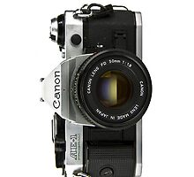 Canon SLR iPhone Cover by Nathan Barlow