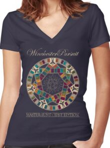 Winchester Pursuit Women's Fitted V-Neck T-Shirt