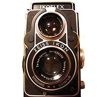 Twin Lens Reflex Camera iPhone by Nathan Barlow