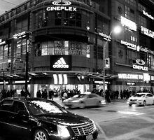 Nightlife in Toronto by Valentino Visentini