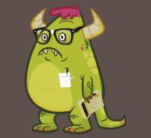 Monster Nerd Baby Tee