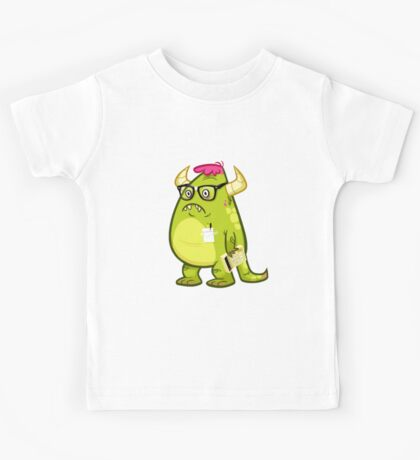 Monster Nerd Kids Clothes