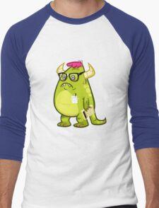 Monster Nerd Men's Baseball ¾ T-Shirt