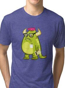 Monster Nerd Tri-blend T-Shirt