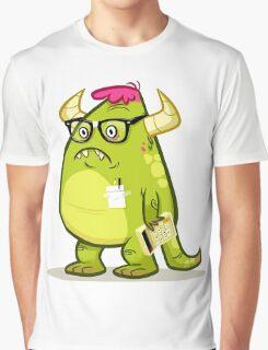 Monster Nerd Graphic T-Shirt