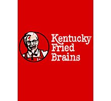 Kentucky Fried Brains Photographic Print