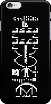 arecibo message / case&sticker by pixelP