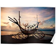 The Sun Voyager - Iceland Poster