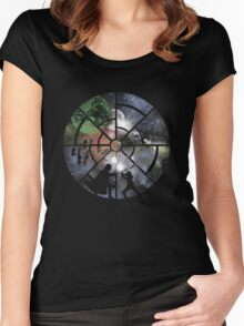 Ultimate Battle Women's Fitted Scoop T-Shirt