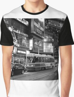 Toronto Night Scene Graphic T-Shirt