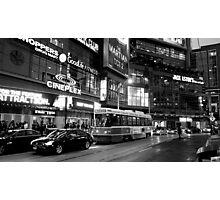 Toronto Night Scene Photographic Print