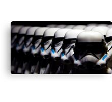 The Troopers Are Ready, Are You Canvas Print