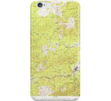USGS Topo Map Washington State WA Pe Ell 243107 1953 62500 iPhone Case/Skin