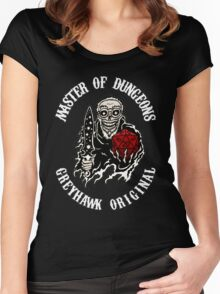 Master of Dungeons - Greyhawk Original Women's Fitted Scoop T-Shirt