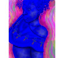 African Electronica 2 Photographic Print
