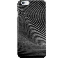 The Vortex - BW iPhone Case/Skin
