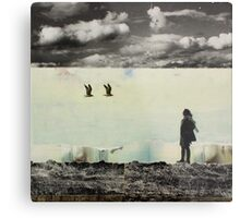 ANYWAY THE WIND BLOWS Metal Print