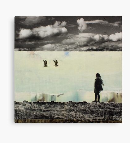 ANYWAY THE WIND BLOWS Canvas Print