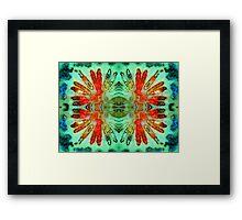 Headdress (Fossil Coral) Framed Print