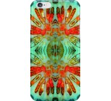 Headdress (Fossil Coral) iPhone Case/Skin