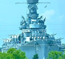 Battleship ALABAMA by skyhat