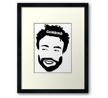 Childish Gambino Framed Print