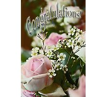 Congratulations! 3 Photographic Print