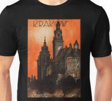 Vintage poster- Krakow Unisex T-Shirt